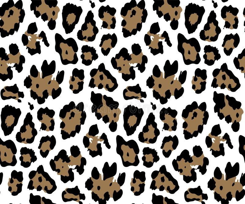 Nahtloses Leopard-Haut-Muster f?r Textildruck f?r Druckgewebeentwurf f?r Womenswear, Unterw?sche, Activewear kidswear vektor abbildung