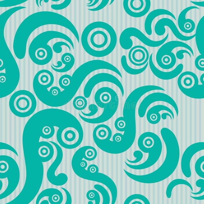 Nahtloses modernes Muster stock abbildung