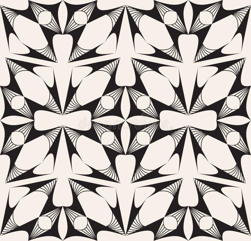 Nahtloses modernes regelmäßiges Muster. Vektorbeschaffenheit vektor abbildung