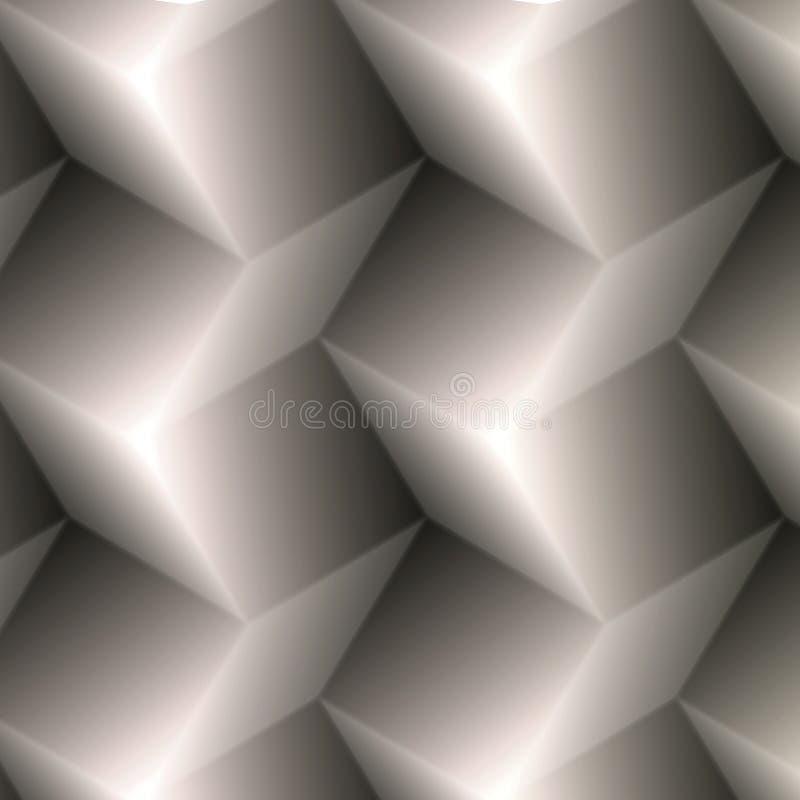 Nahtloses Mosaikmuster lizenzfreie abbildung