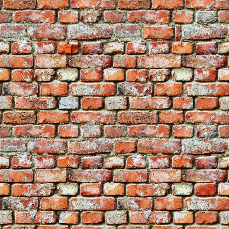 Nahtloses Muster - Backsteinmauerschmutzhintergrund lizenzfreies stockfoto