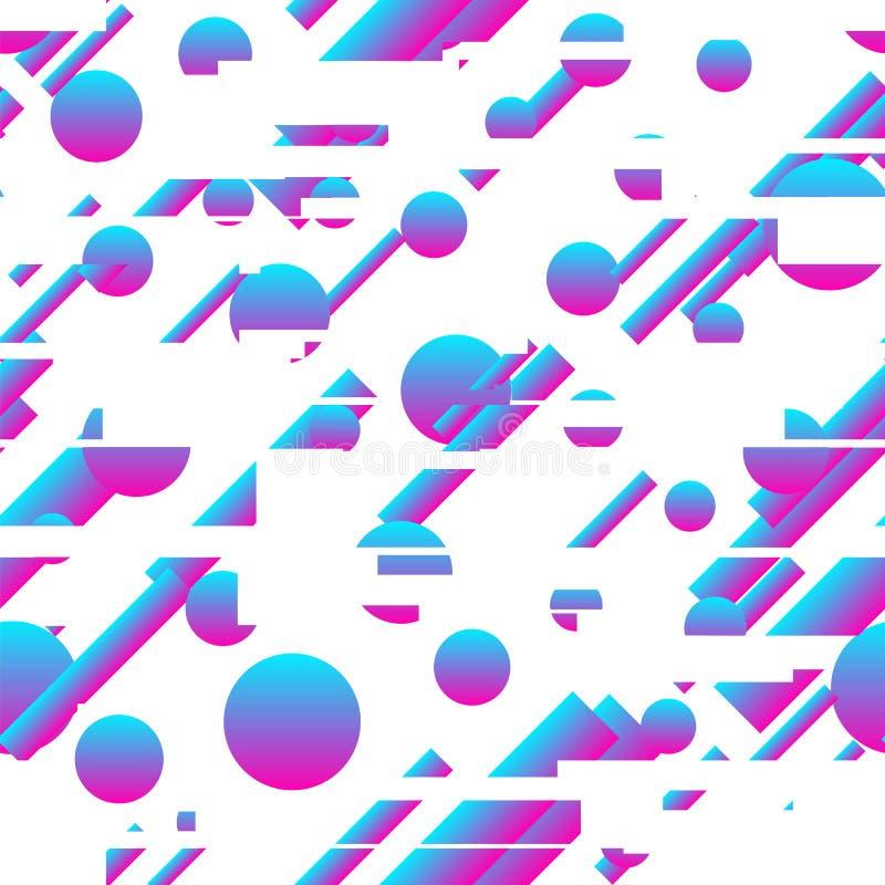 Nahtloses Muster der abstrakten modernen Steigung lizenzfreies stockfoto