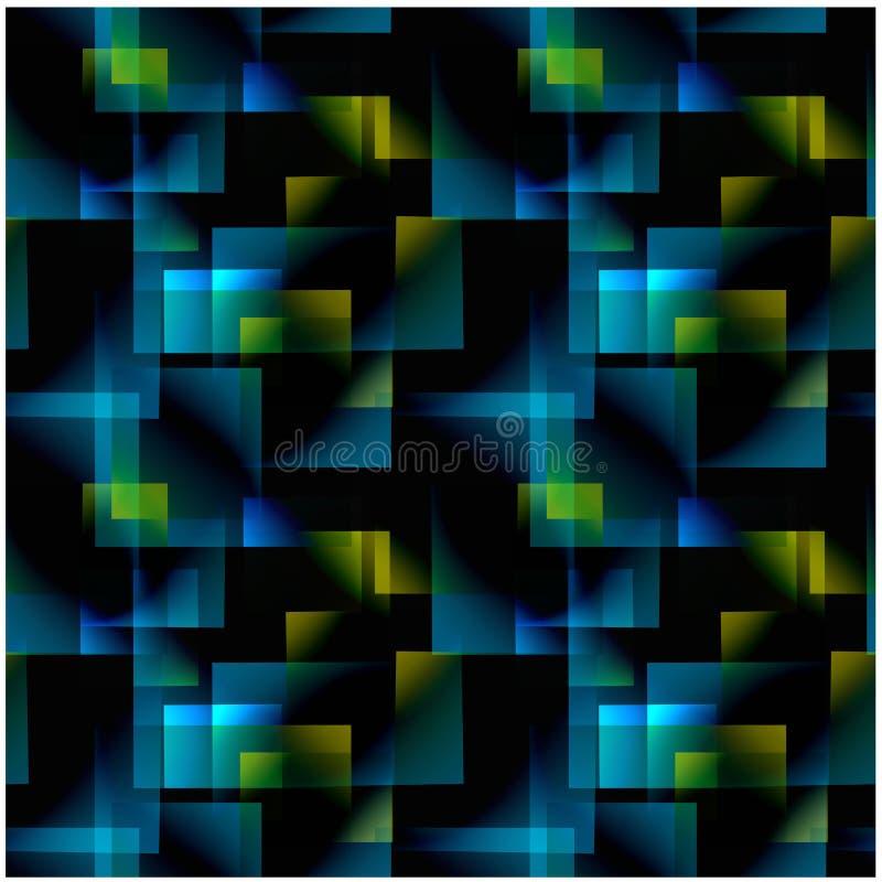Nahtloses Muster der abstrakten Steigung stockbild