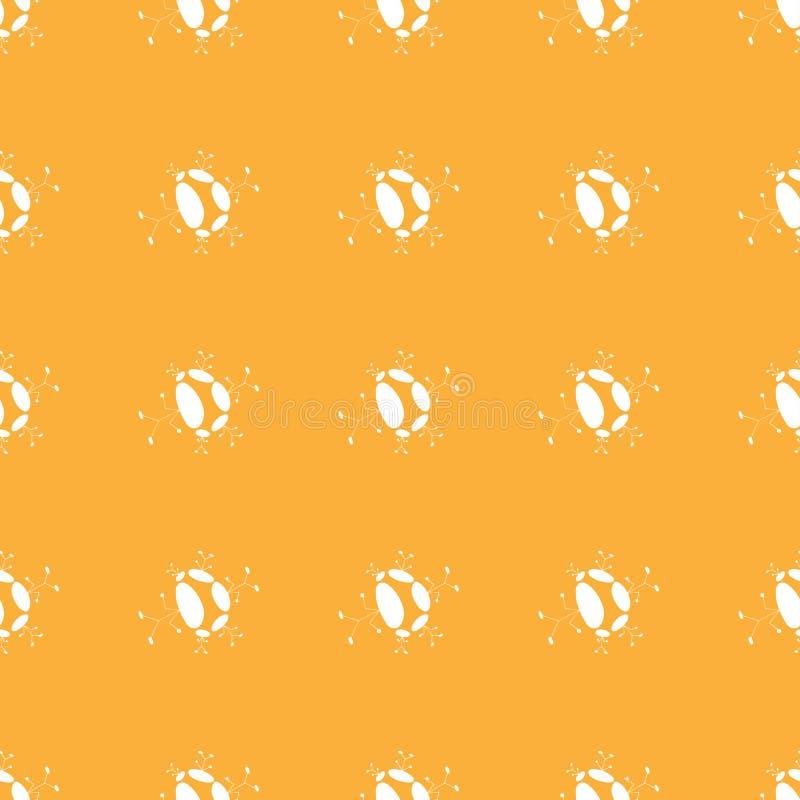Nahtloses Muster der bunten Männchenzahl ittle Mann stock abbildung