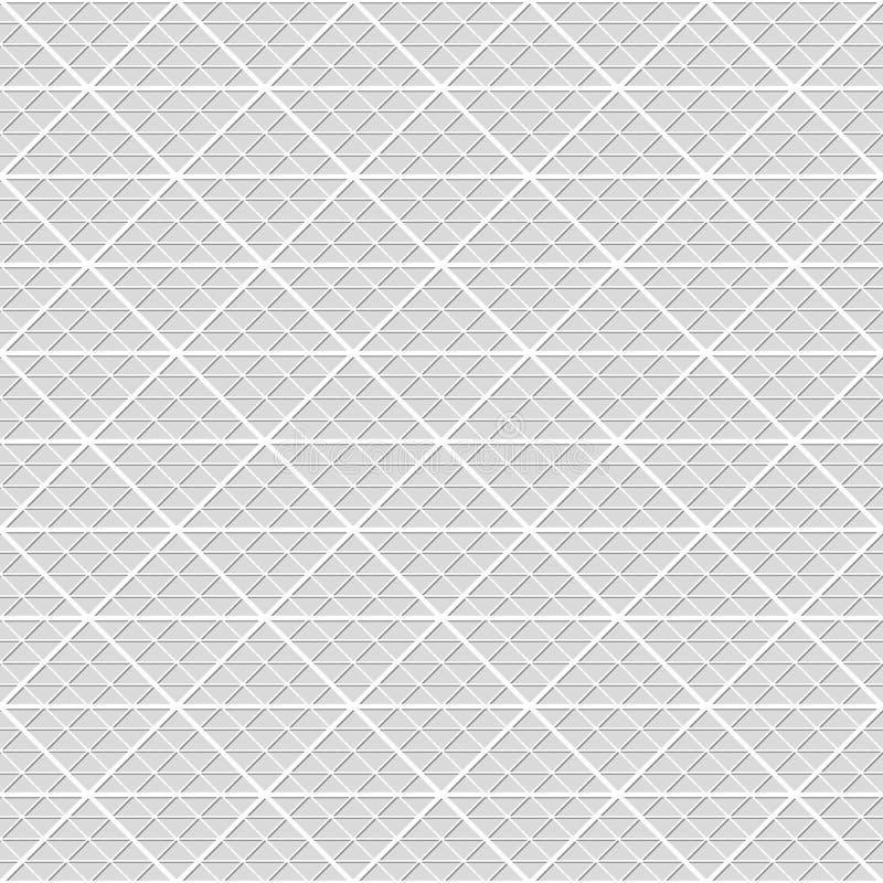 Nahtloses Muster der Dreiecke Geometrischer Hintergrund tapete stock abbildung