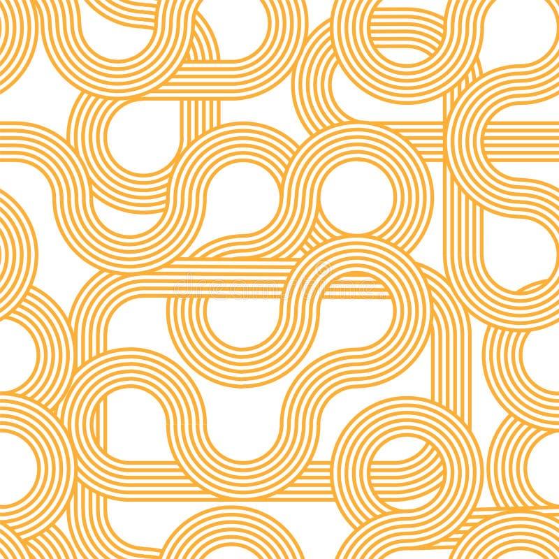 nahtloses Muster der gestreiften Wellen Hintergrund modern Modischer abstrakter Steigungshintergrund Minimalistic-Design lizenzfreie stockfotos