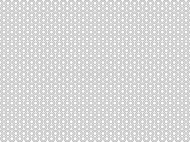 Nahtloses Muster der kleinen Runden der Torsion lizenzfreie abbildung