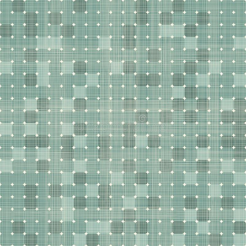Nahtloses Muster der nahtlosen Retro- Quadrate vektor abbildung