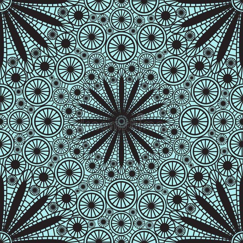 Nahtloses Muster der Spitzes vektor abbildung