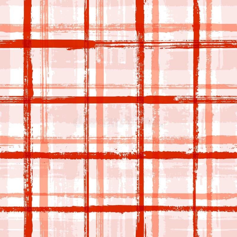Nahtloses Muster der zuf?lligen Streifeninnentapete lizenzfreie abbildung