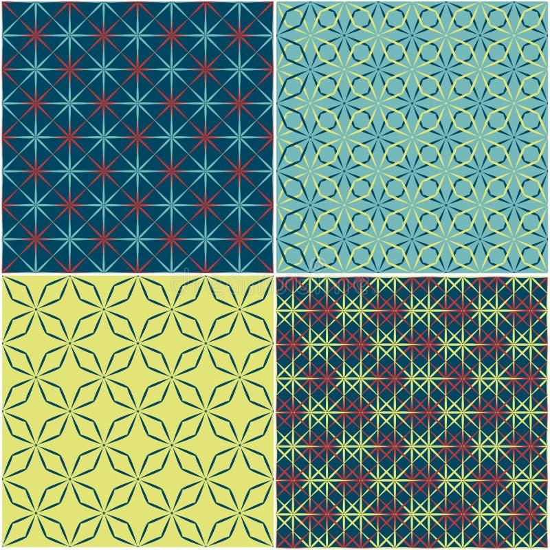 Download Nahtloses Muster Des Abstrakten Hintergrundes Vektor Abbildung - Illustration von endlos, element: 26350784