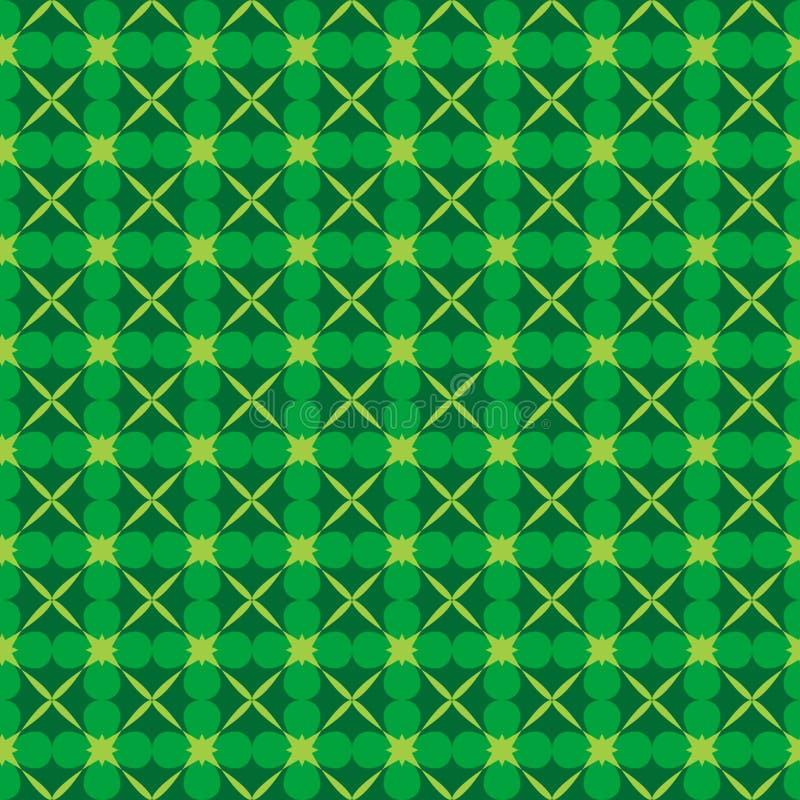 Nahtloses Muster des abstrakten Naturvektors stock abbildung