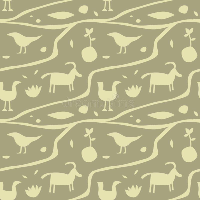 Download Nahtloses Muster Des Alten Mannwandbilds Vektor Abbildung - Illustration von leben, kunst: 106804552