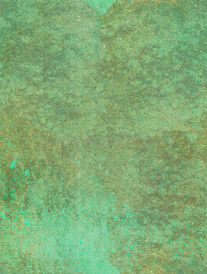 Nahtloses Muster des Aquarells, des acril und der Tinte stock abbildung