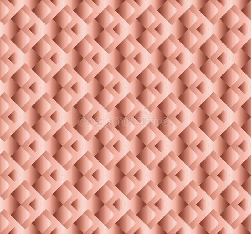 Nahtloses Muster des blassen Farbluxusvektors stock abbildung