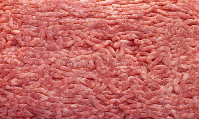 Nahtloses Muster des gehackten Fleisches lizenzfreie stockfotografie