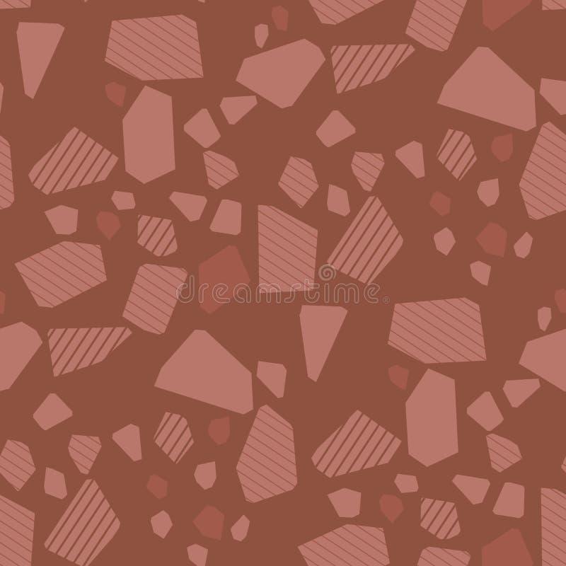 Nahtloses Muster des geometrischen Partikelvektors lizenzfreie abbildung