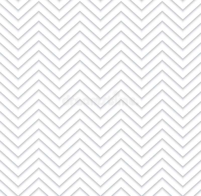 Nahtloses Muster des geometrischen Zickzacks vektor abbildung