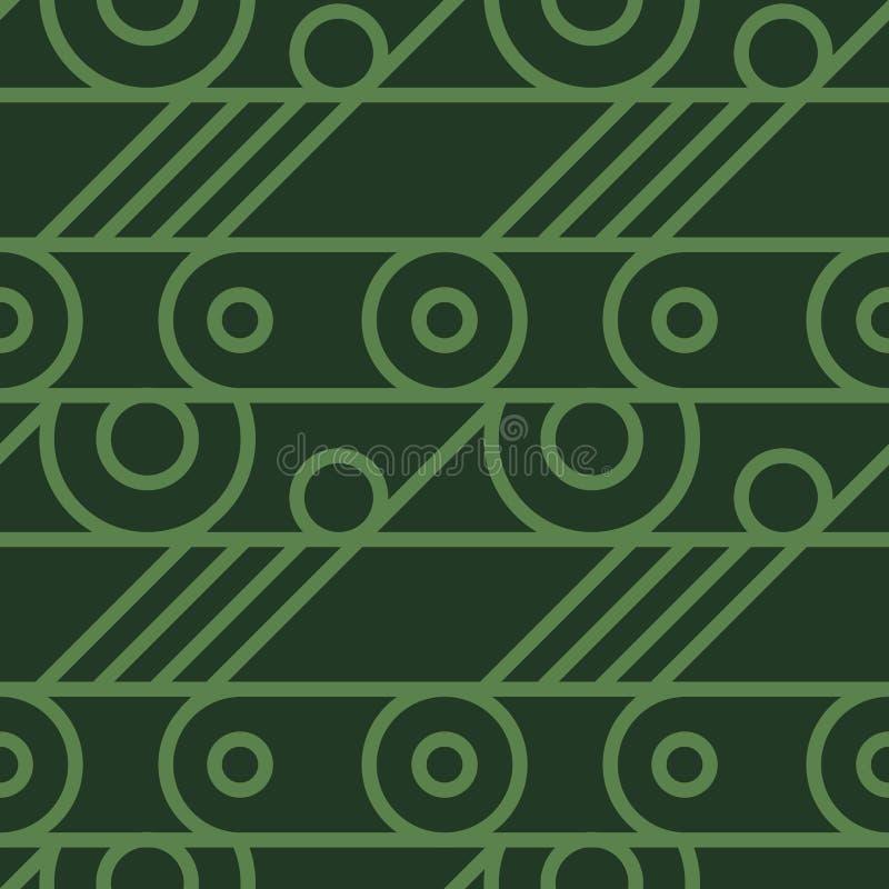 Download Nahtloses Muster Des Grundlegenden Radmechanismus Vektor Abbildung - Illustration von nahtlos, industriell: 106803107