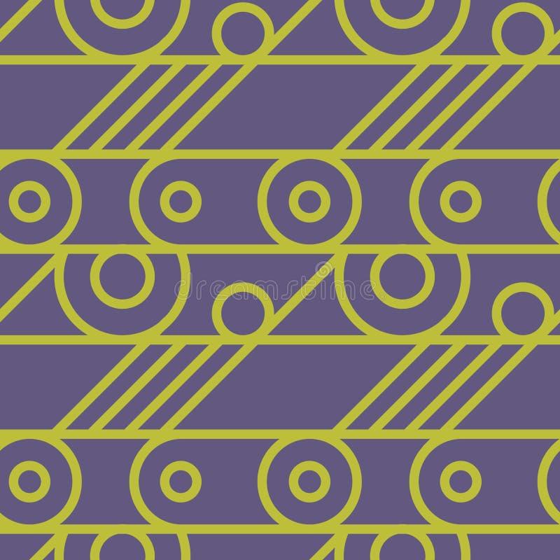 Download Nahtloses Muster Des Grundlegenden Radmechanismus Vektor Abbildung - Illustration von auslegung, nahtlos: 106803351