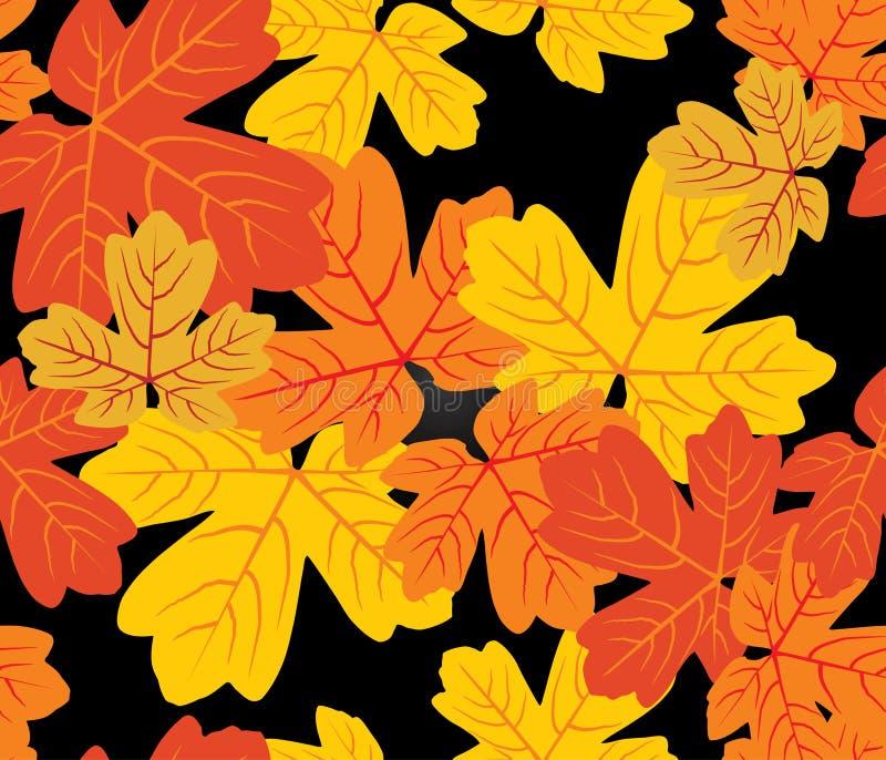 Nahtloses Muster des Herbstes vektor abbildung