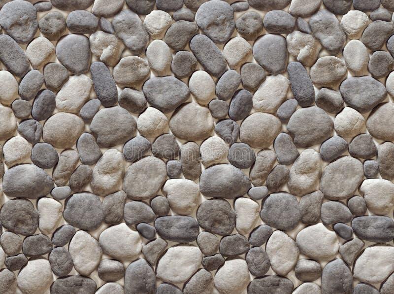 Nahtloses Muster des Kiesels stockbilder