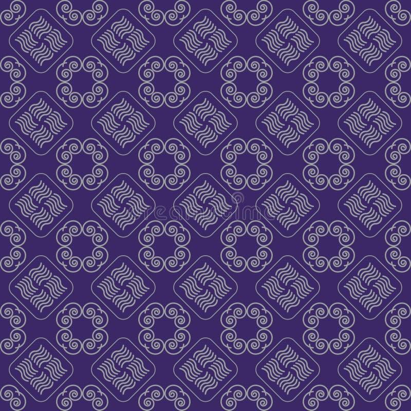 Nahtloses Muster des Vektors der ethnischen Dekoration vektor abbildung