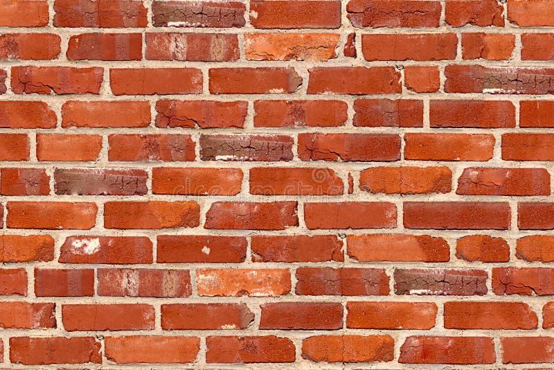 Nahtloses Muster des Ziegelsteines. lizenzfreies stockfoto