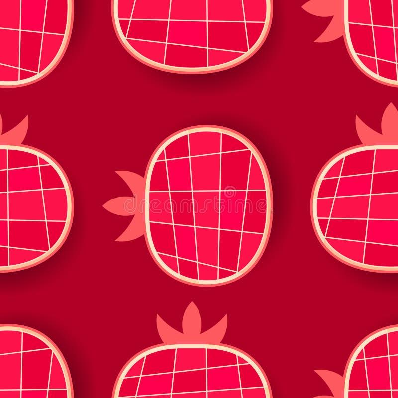 Nahtloses Muster für Ihre Produkte und Geschäft Vektor lizenzfreie abbildung