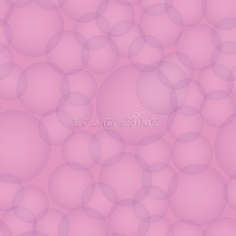 Nahtloses Muster - Fotoeffekt bokeh Abstrakter Vektor lizenzfreie abbildung