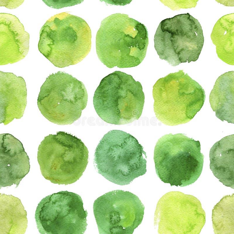 Download Nahtloses Muster Mit Aquarellstellen Stock Abbildung - Illustration von watercolour, nahtlos: 106802262