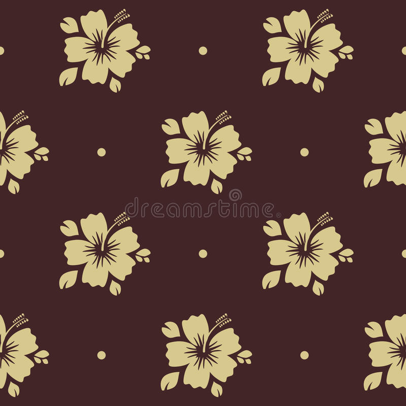 Nahtloses Muster mit Blume vektor abbildung