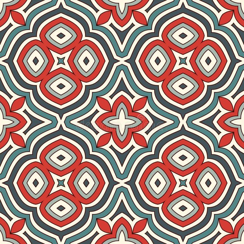Nahtloses Muster mit Blumenmotiv Weinlesepastellfarbabstrakter Hintergrund Romantischer Druck mit Blumen stock abbildung
