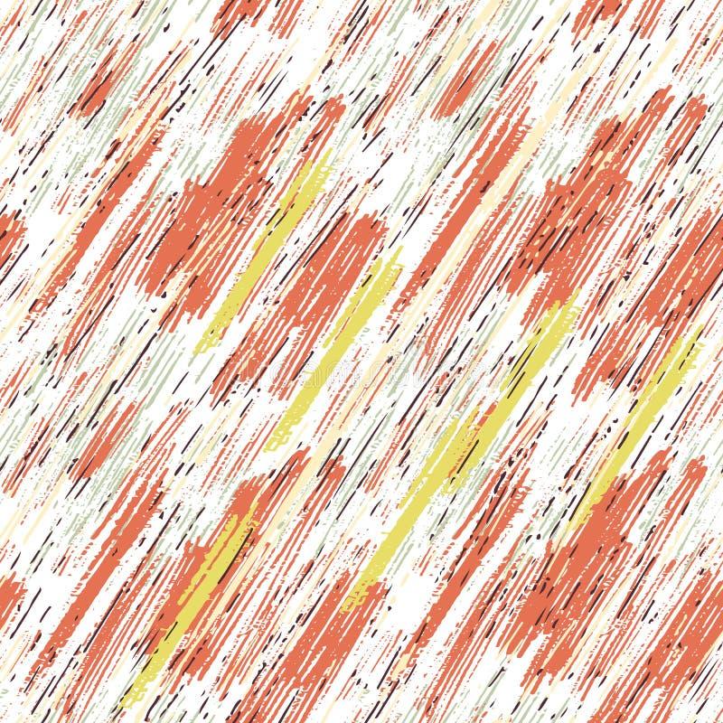 Nahtloses Muster mit Schmutzbeschaffenheit lizenzfreie abbildung