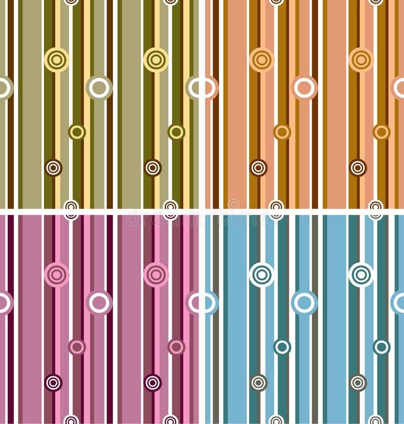 Nahtloses Muster, Vektor lizenzfreie abbildung