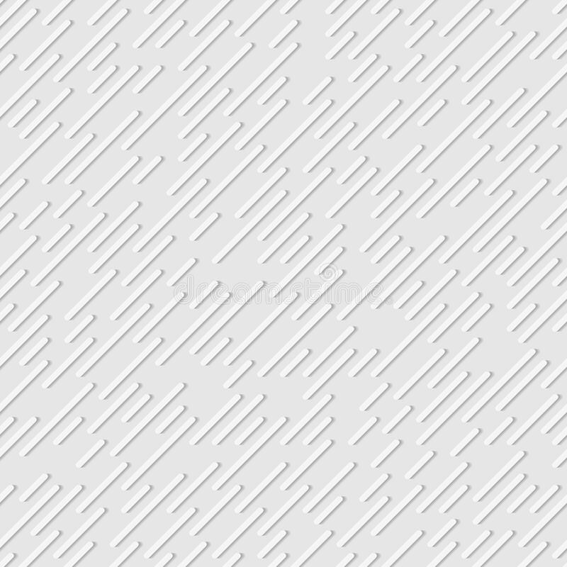 Nahtloses Muster von diagonalen Linien entziehen Sie Hintergrund Vektor vektor abbildung