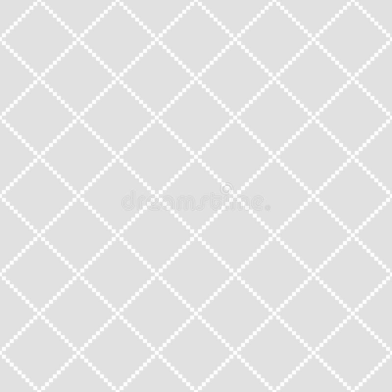 Nahtloses Muster von Quadraten Geometrischer Hintergrund lizenzfreie abbildung