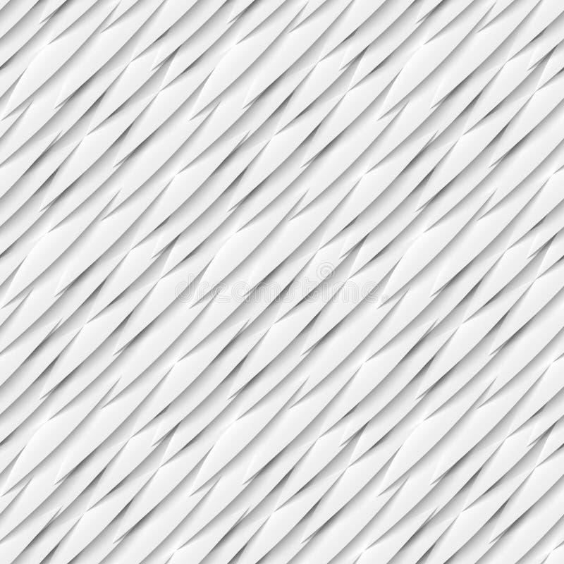 Nahtloses Muster von Weißbuchelementen mit Tropfen vektor abbildung