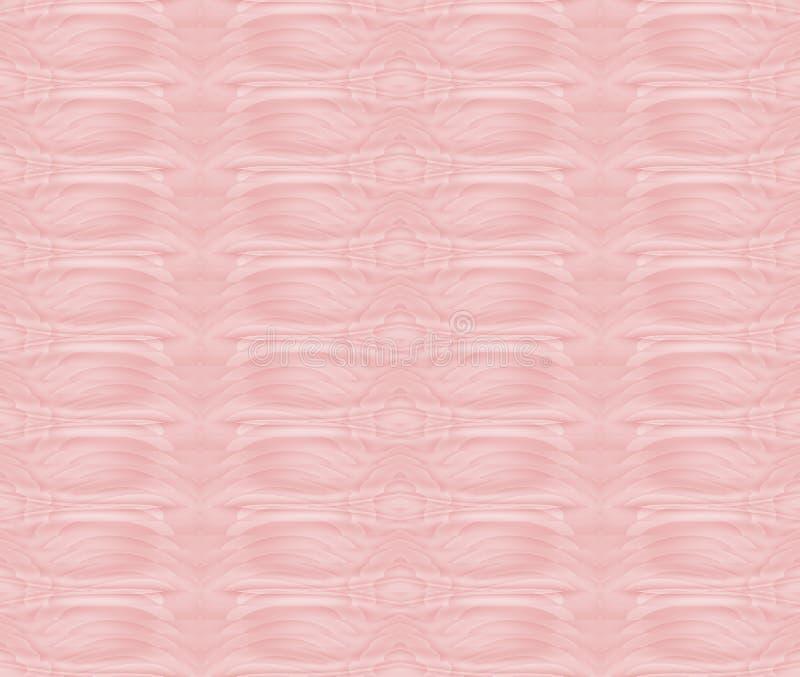 Nahtloses Musterrosa stock abbildung