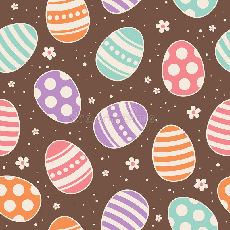 Nahtloses Ostern-Muster