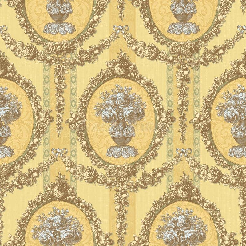Nahtloses Pattern-068 stock abbildung