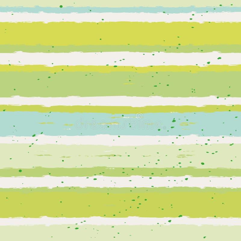 Nahtloses Streifen-Muster stock abbildung