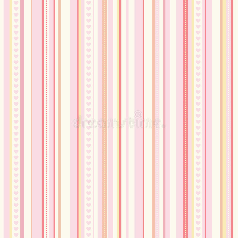 Nahtloses Streifenmuster vektor abbildung