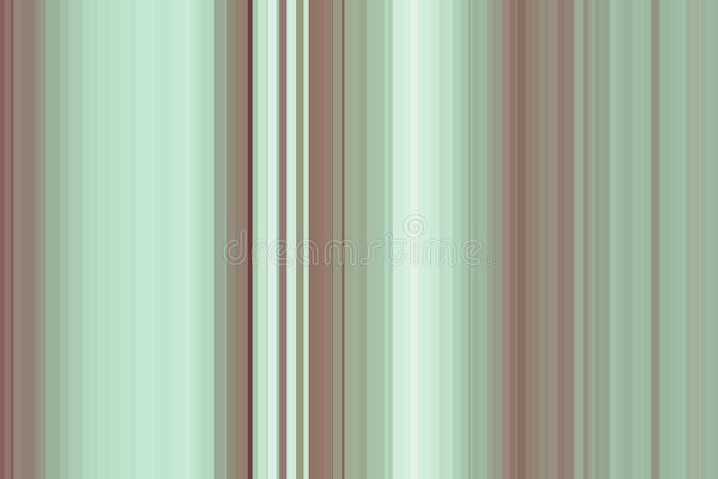 Nahtloses Streifenmuster des Olivgrüns Abstrakter Abbildunghintergrund Stilvolle moderne Tendenzfarben lizenzfreie abbildung