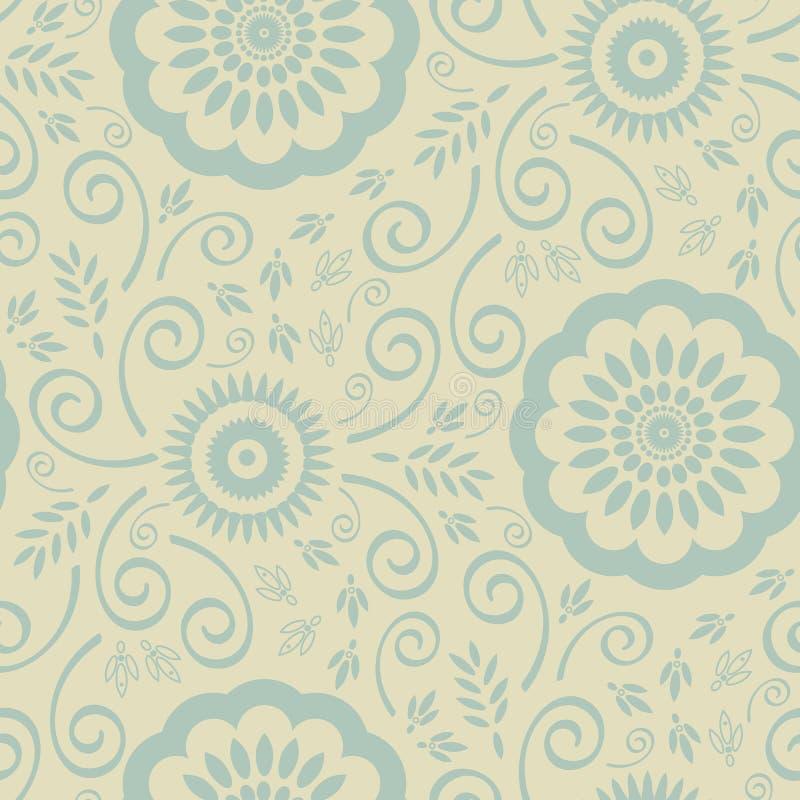 Nahtloses Tapeten-Muster stockbild