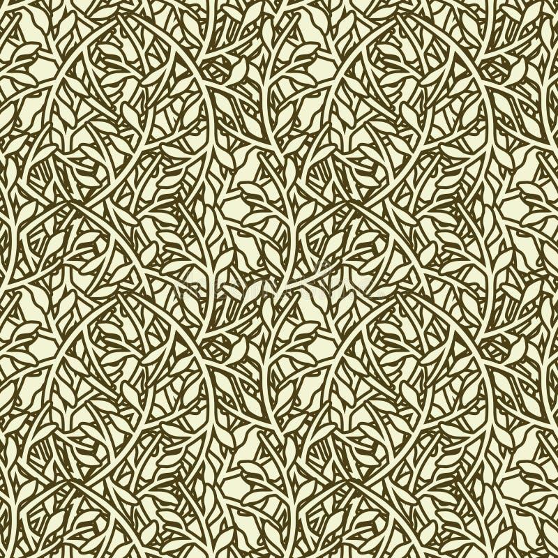 Nahtloses Tapeten-Muster stock abbildung
