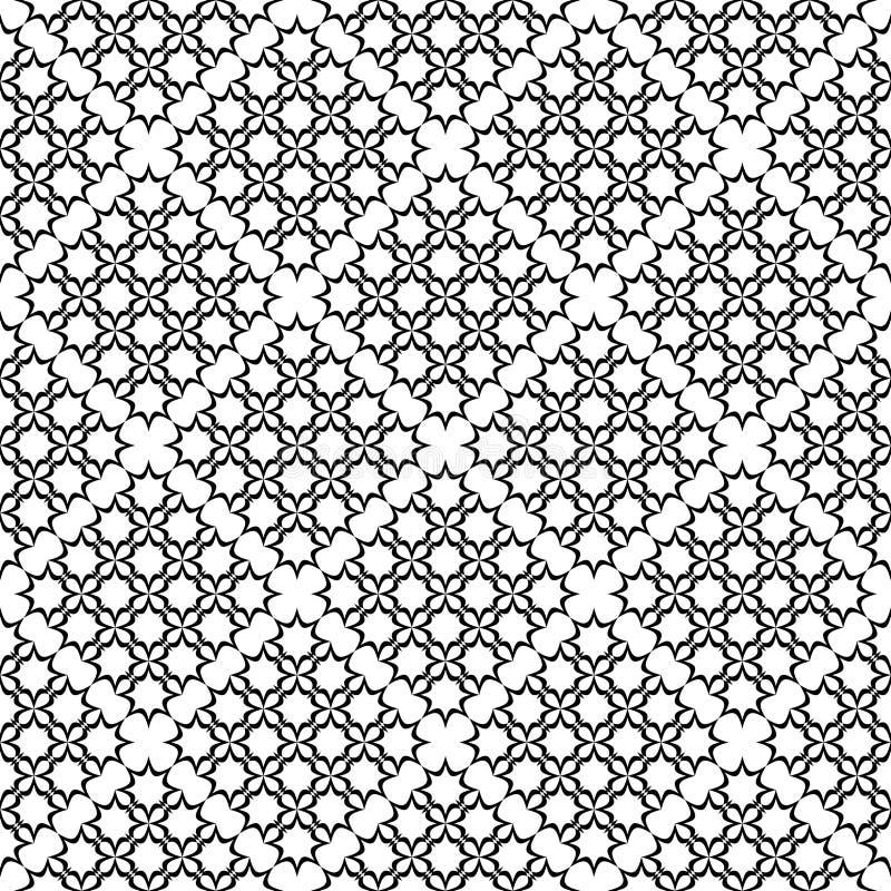 Nahtloses transparentes Spitzen- Muster. vektor abbildung