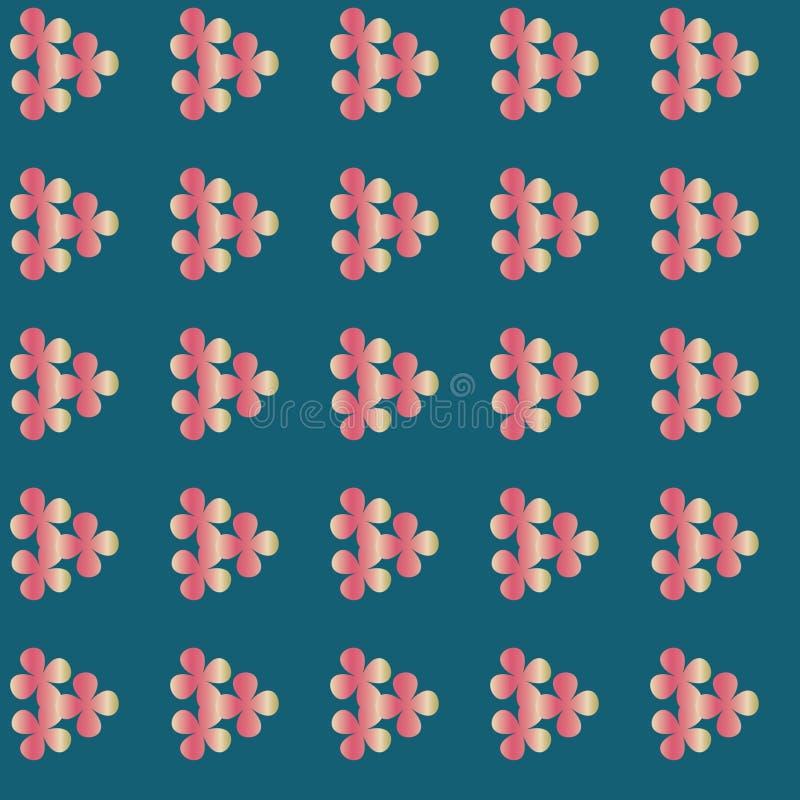 Nahtloses Vergissmeinnichtblumenmuster floral stock abbildung