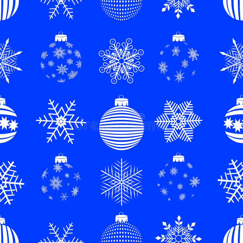 Nahtloses Weihnachten. Vektor. stock abbildung