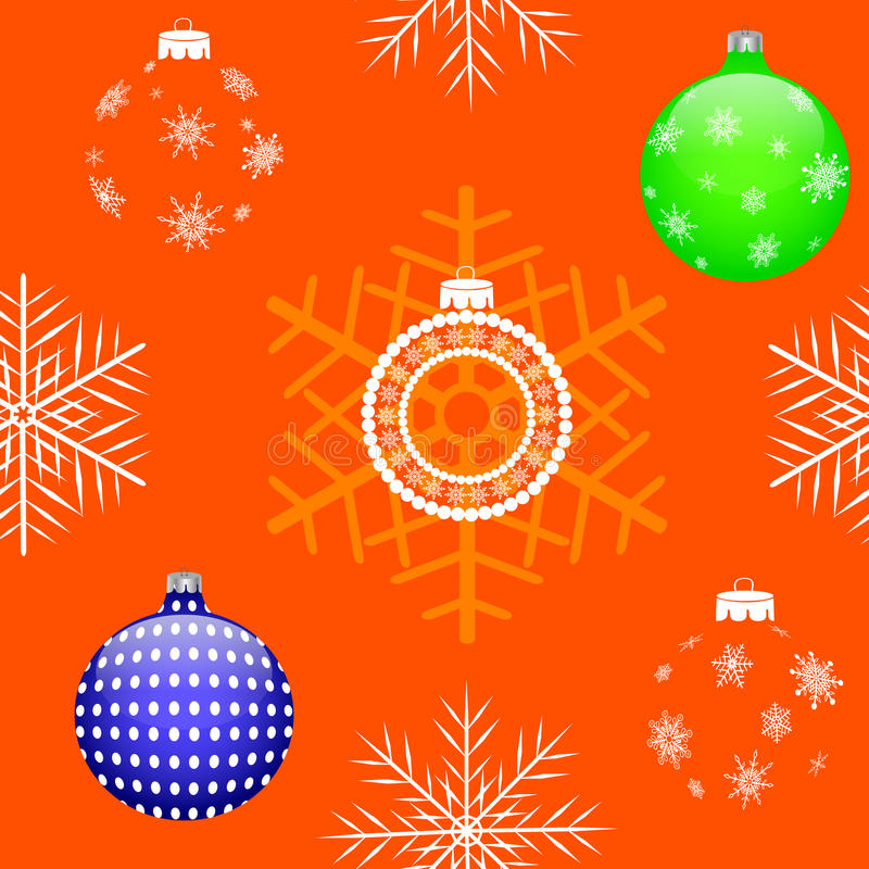 Nahtloses Weihnachten. Vektor eps10. lizenzfreie abbildung